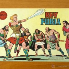 Tebeos: REY FURIA - Nº 1 - EDITORIAL VALENCIANA 1961. Lote 50332907