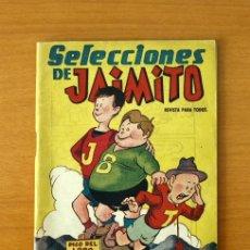 Tebeos: SELECCIONES DE JAIMITO - Nº 1 - EDITORIAL VALENCIANA 1958. Lote 50332949