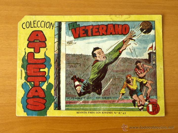 ATLETAS - Nº 1 EL VETERANO - EDITORIAL MAGA 1958 (Tebeos y Cómics - Números 1)