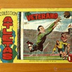 Tebeos: ATLETAS - Nº 1 EL VETERANO - EDITORIAL MAGA 1958. Lote 50334436