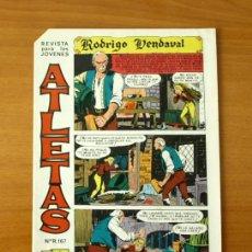Tebeos: ATLETAS - Nº 1 RODRIGO VENDAVAL - EDITORIAL MAGA 1965. Lote 50334492