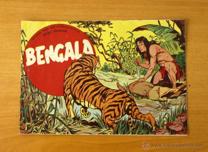 BENGALA - Nº 1, 1ª PARTE - EDITORIAL MAGA 1959 (Tebeos y Cómics - Números 1)