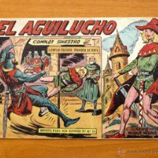 Tebeos: EL AGUILUCHO - Nº 1 COMPLOT SINIESTRO - EDITORIAL MAGA 1959. Lote 50337138