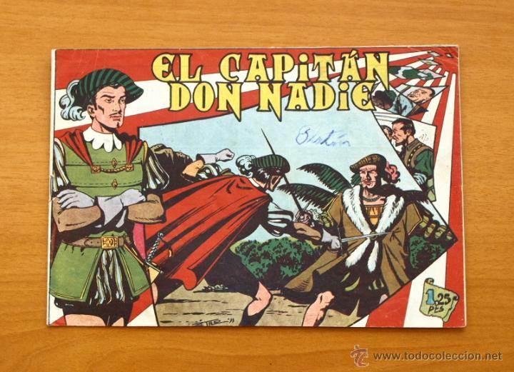 EL CAPITÁN DON NADIE - Nº 1 - EDITORIAL MAGA 1952 (Tebeos y Cómics - Números 1)