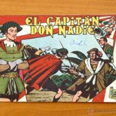 Tebeos: EL CAPITÁN DON NADIE - Nº 1 - EDITORIAL MAGA 1952. Lote 50337271