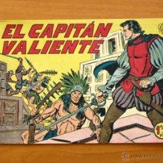Tebeos: EL CAPITÁN VALIENTE - Nº 1 - EDITORIAL MAGA 1957. Lote 50337391