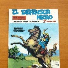 Tebeos: EL DEFENSOR NEGRO - Nº 1 RINGO ROWANT - EDITORIAL MAGA 1963. Lote 50337708