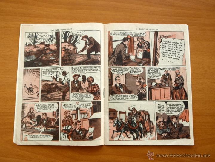 Tebeos: El defensor negro - Nº 1 Ringo Rowant - Editorial Maga 1963 - Foto 3 - 50337708