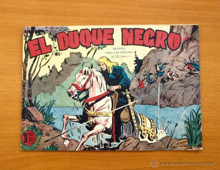 EL DUQUE NEGRO - Nº 1 - EDITORIAL MAGA 1958 (Tebeos y Cómics - Números 1)