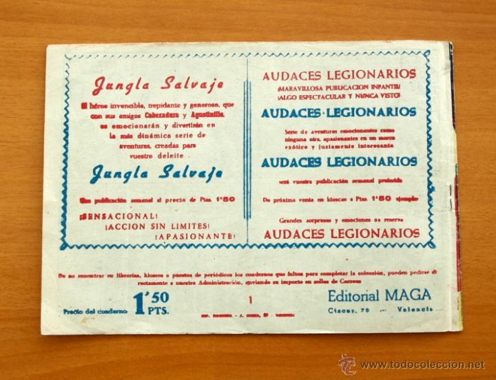 Tebeos: El Duque negro - Nº 1 - Editorial Maga 1958 - Foto 5 - 50337923
