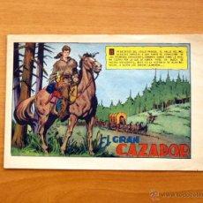 Tebeos: EL GRAN CAZADOR - Nº 1 - EDITORIAL MAGA 1962 . Lote 50338127