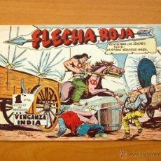 Tebeos: FLECHA ROJA - Nº 1 VENGANZA INDIA - EDITORIAL MAGA 1962. Lote 50338567