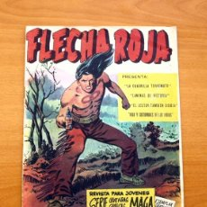 Tebeos: FLECHA ROJA, REVISTA - Nº 1 - EDITORIAL MAGA 1963. Lote 50338639