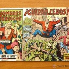 Tebeos: HOMBRES HEROICOS - Nº 1 GUERRILLEROS - EDITORIAL MAGA 1961. Lote 50338814