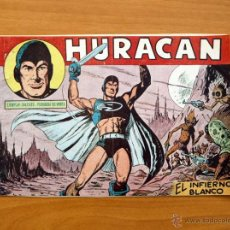 Tebeos: HURACAN - Nº 1 EL INFIERNO BLANCO - EDITORIAL MAGA 1960. Lote 50338921