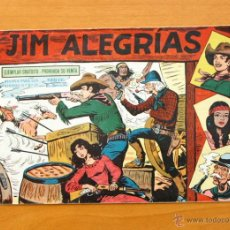 Tebeos: JIM ALEGRÍAS - Nº 1 - EDITORIAL MAGA 1960. Lote 50339128