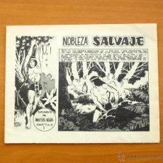 Tebeos: NOBLEZA SALVAJE, SUPLEMENTO REVISTA PANTERA NEGRA - Nº 1 - EDITORIAL MAGA 1962. Lote 50339684