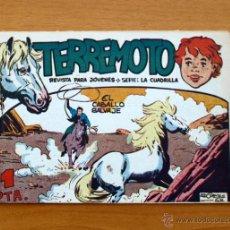 Tebeos: TERREMOTO - Nº 1 EL CABALLO SALVAJE - EDITORIAL MAGA 1962. Lote 50346033