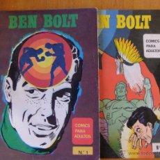 Tebeos: BEN BOLT Nº 1 Y 2 EDICIONES MAISAL 1976. Lote 50383489