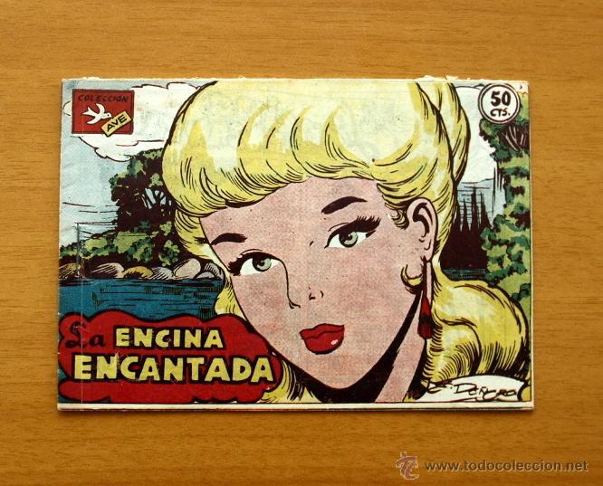 LA ENCINA ENCANTADA - Nº 1 - AVE - EDITORIAL RICART 1955 (Tebeos y Cómics - Números 1)
