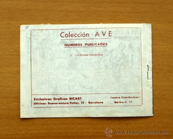 Tebeos: La encina encantada - Nº 1 - Ave - Editorial Ricart 1955 - Foto 5 - 51054727