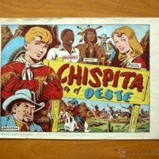 Tebeos: CHISPITA 2ª - Nº 1 - CHISPITA EN EL OESTE - EDITORIAL GRAFIDEA 1952. Lote 51054966