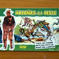 Tebeos: HAZAÑAS DEL OESTE TOMO VERDE - Nº 1 TODO UN HOMBRE - EDITORIAL TORAY 1959. Lote 51061307