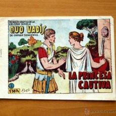 Tebeos: QUO VADIS - Nº 1 LA PRINCESA CAUTIVA - EDITORIAL TORAY 1954. Lote 51062097