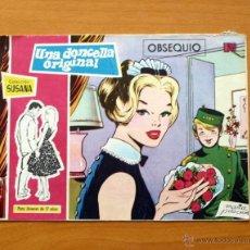 Tebeos: SUSANA - Nº 1 UNA DONCELLA ORIGINAL - EDITORIAL TORAY 1959. Lote 51062638
