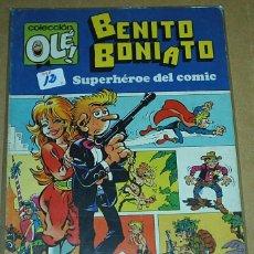 Tebeos: BENITO BONIATO - 1ª EDICION 1984 Nº 1 - LIQUIDACION NUMEROS UNO-IMPORTANTE LEER DESCRIPCION. Lote 51787168