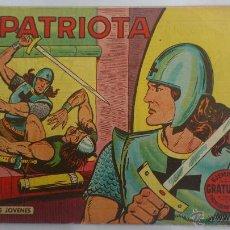 Tebeos: TEBEO EL PATRIOTA, Nº 1, COLECCION COMANDOS , AÑO 1961, EDITORIAL VALENCIANA. Lote 52768917