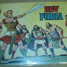 Tebeos: REY FURIA Nº 1 - VALENCIANA 1961 ORIGINAL - MUY BUEN ESTADO. Lote 53142412