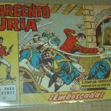 Tebeos: EL SARGENTO FURIA Nº 1 - BRUGUERA 1962 - - ORIGINAL- LEER TODO. Lote 53142678
