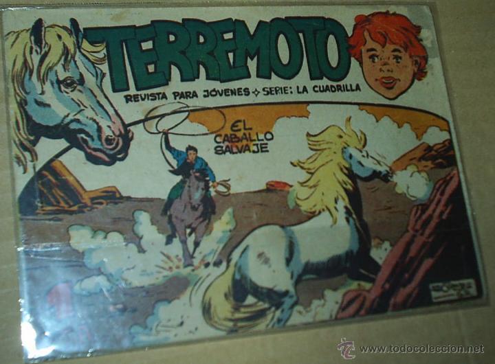 TERREMOTO Nº 1 - MAGA 1962 - - ORIGINAL (Tebeos y Cómics - Números 1)