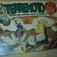 Tebeos: TERREMOTO Nº 1 - MAGA 1962 - - ORIGINAL. Lote 53147396