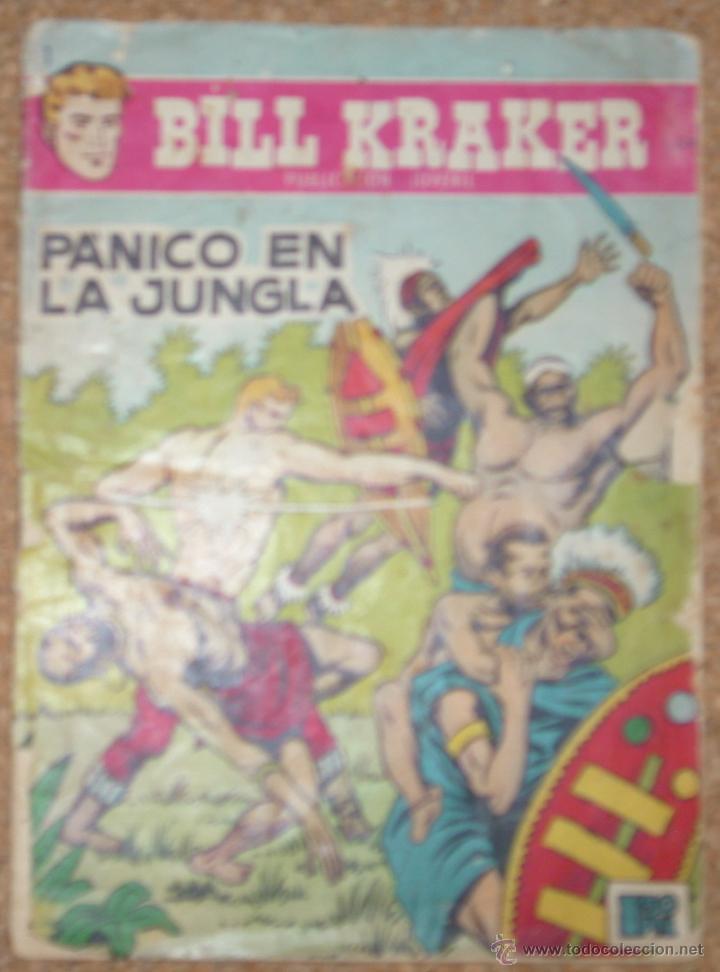 BILL KRAKER Nº 1 - TORAY 1958-- ORIGINAL- IMPORTANTE LEER TODO (Tebeos y Cómics - Números 1)