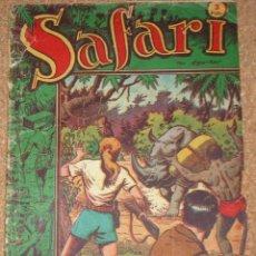 Tebeos: SAFARI ALBUM Nº 1 - RICART 1953 O 54-- ORIGINAL. Lote 53960255