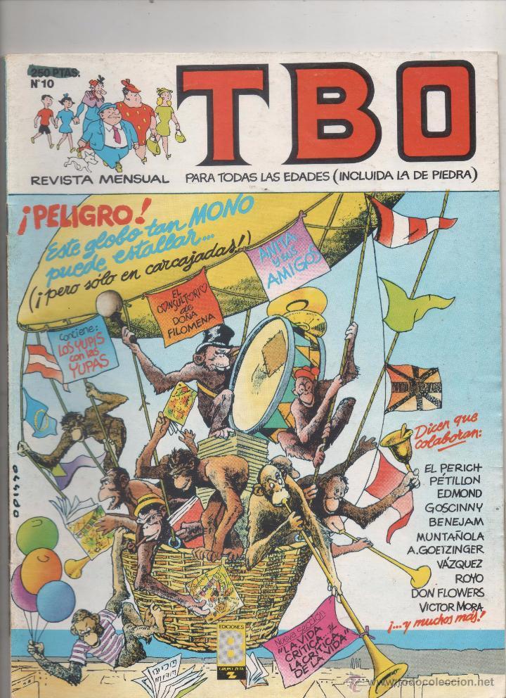 TBO - Nº 10 - EDICIONES B - 1988. (Tebeos y Cómics - Números 1)