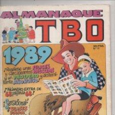 Tebeos: ALMANAQUE TBO - Nº 11 - EDICIONES B - 1989.DA. Lote 54509717