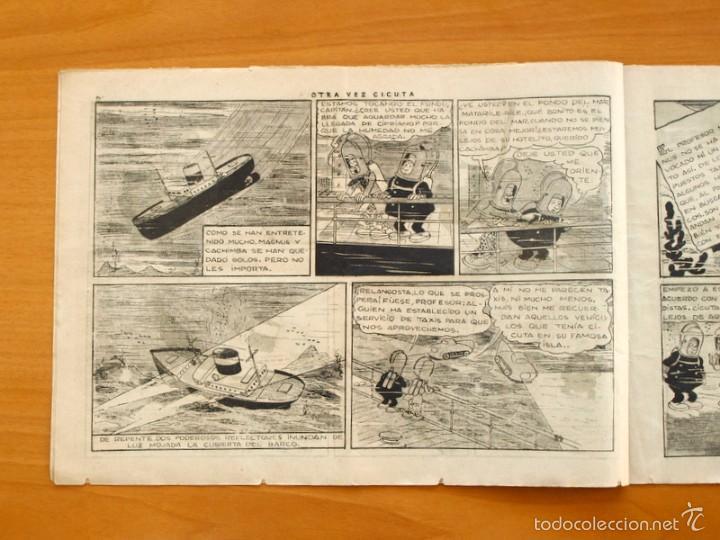 Tebeos: El profesor Magnus contra el doctor Cicuta nº 1 Otra vez Cicuta - Editorial Hispano Americana 1945 - Foto 2 - 55234312