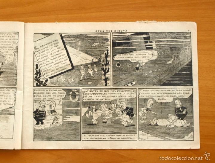 Tebeos: El profesor Magnus contra el doctor Cicuta nº 1 Otra vez Cicuta - Editorial Hispano Americana 1945 - Foto 3 - 55234312