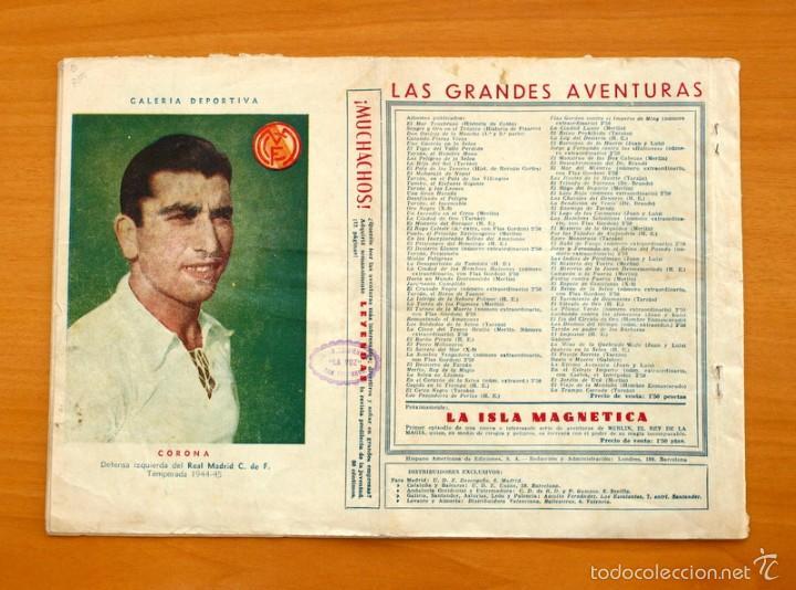 Tebeos: El profesor Magnus contra el doctor Cicuta nº 1 Otra vez Cicuta - Editorial Hispano Americana 1945 - Foto 4 - 55234312