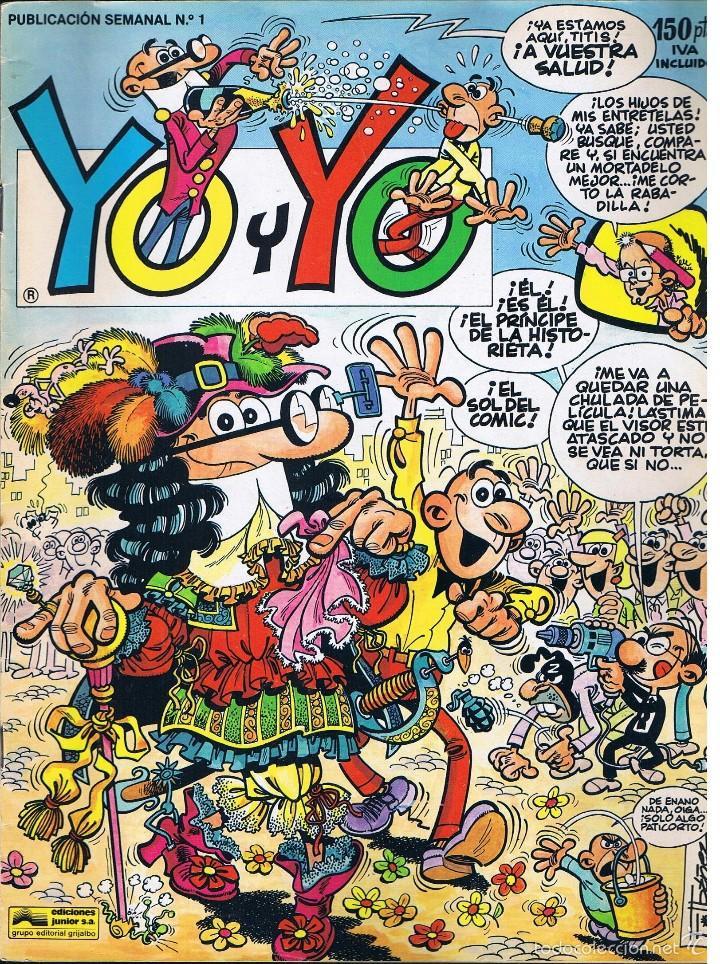 YO Y YO - Nº 1 - EDICIONES JUNIOR GRIJALBO - MORTADELO (Tebeos y Cómics - Números 1)