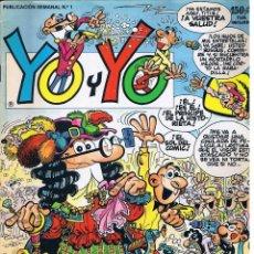 Tebeos: YO Y YO - Nº 1 - EDICIONES JUNIOR GRIJALBO - MORTADELO. Lote 55914558