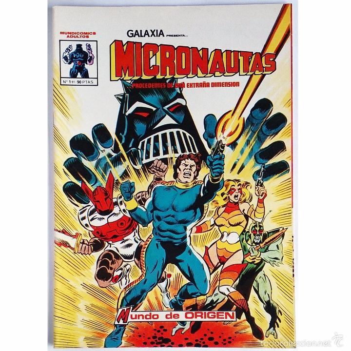 MICRONAUTAS Nº 1 / MARVEL / VERTICE / MUNDI COMICS 1981 (BILL MANTLO & MICHAEL GOLDEN) (Tebeos y Cómics - Números 1)