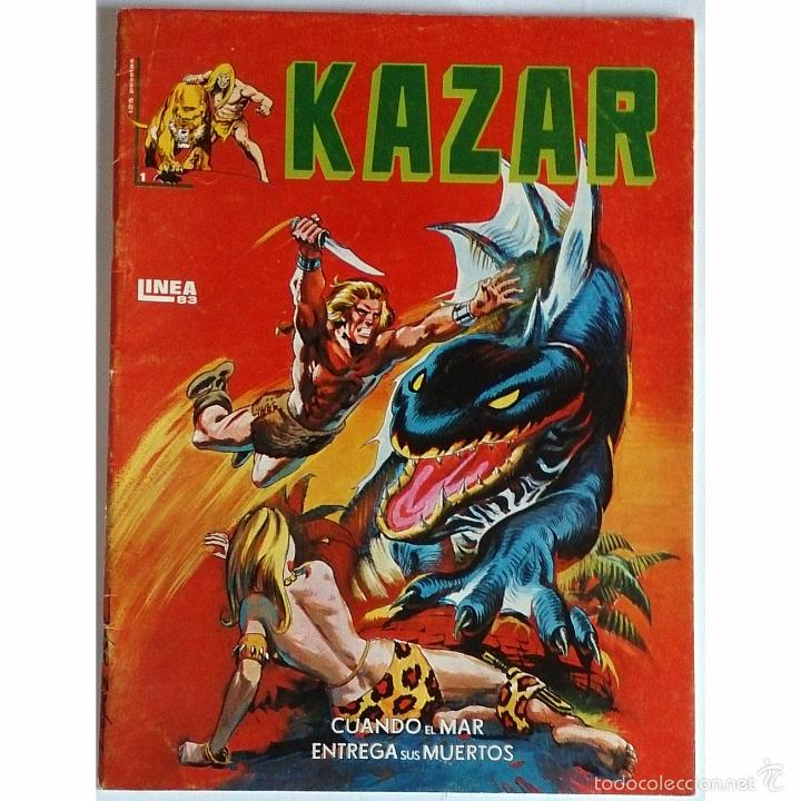 KAZAR Nº 1 / MARVEL / EDICIONES SURCO / LINEA 83 / 1983 (BRUCE JONES & BRENT ANDERSON) (Tebeos y Cómics - Números 1)