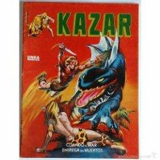 Tebeos: KAZAR Nº 1 / MARVEL / EDICIONES SURCO / LINEA 83 / 1983 (BRUCE JONES & BRENT ANDERSON). Lote 56105284