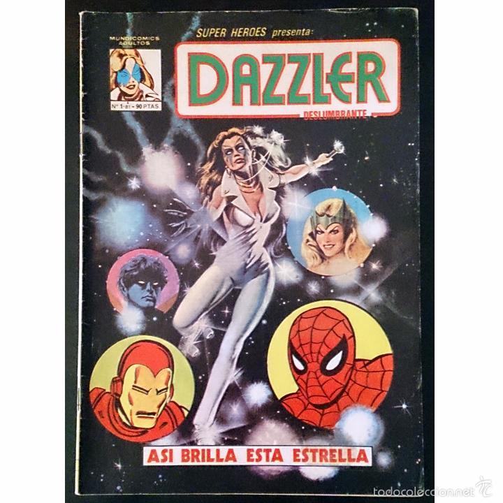 SUPER HEROES PRESENTA Nº1 / DAZZLER / MARVEL VERTICE MUNDI COMICS 1981 (T.DEFALCO & J.ROMITA JR.) (Tebeos y Cómics - Números 1)