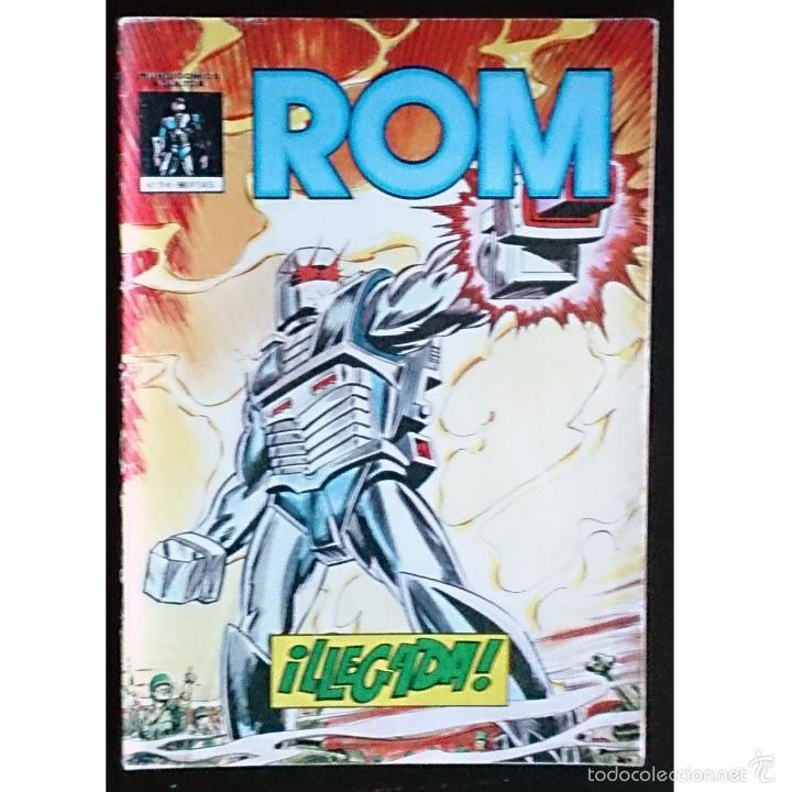 ROM Nº 1 / VERTICE / MUNDI COMICS 1981 (BILL MANTLO & SAL BUSCEMA) (Tebeos y Cómics - Números 1)