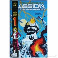 Tebeos: LEGION DE SUPERHEROES Nº 1 / DC / ZINCO 1987 (PAUL LEVITZ & GREG LAROCQUE ). Lote 56041581